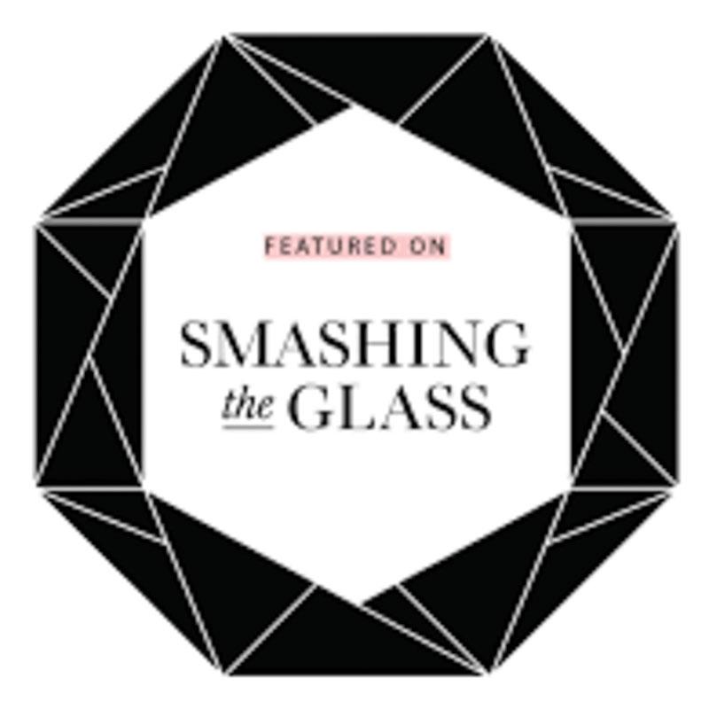 Smashing the glass wedding logo blog