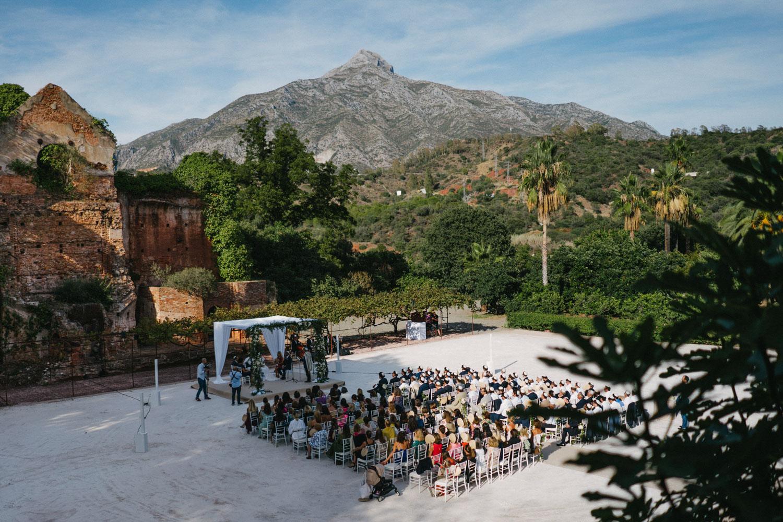 jewish wedding Finca La Concepción Marbella