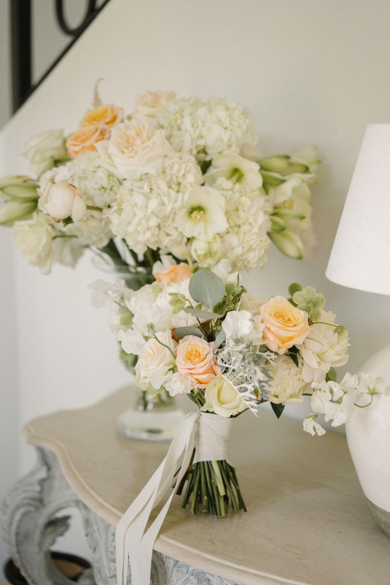 Bridal bouquet Marbella club hotel