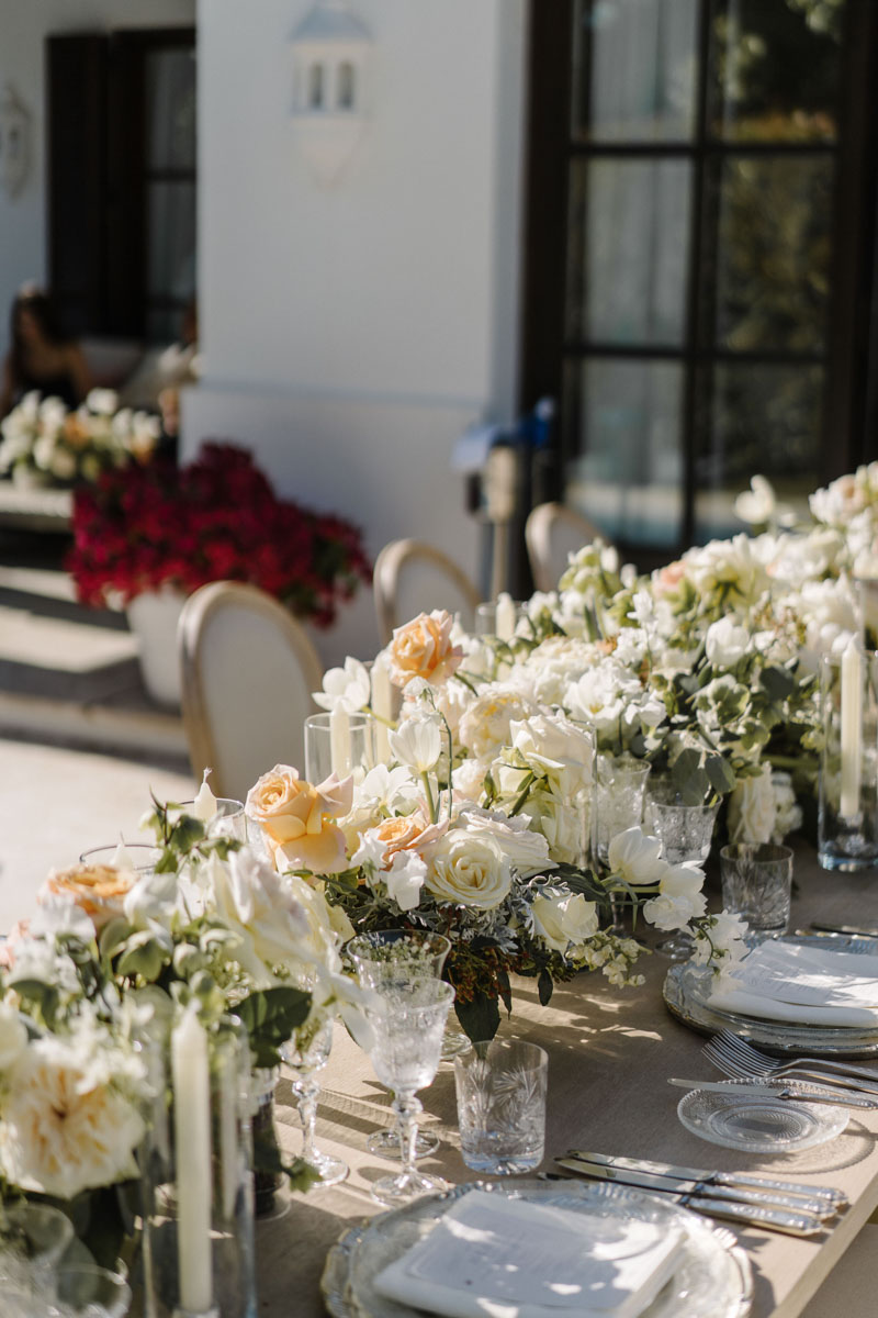 Flower decoration garland wedding Marbella