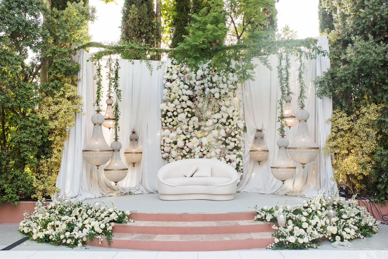 Kosha decoration wedding Marbella lamps flowers Anantara Villa Padierna