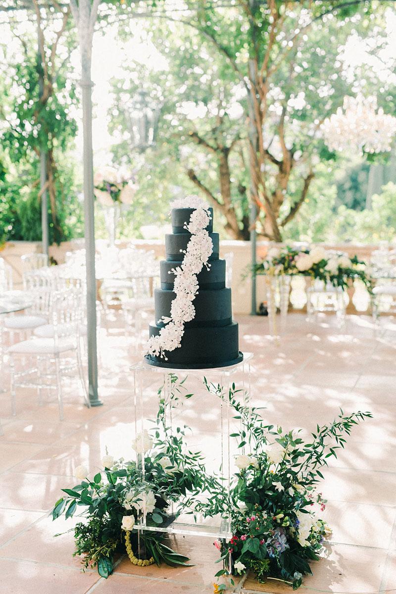 Wedding cake in Villa Padierna Marbella