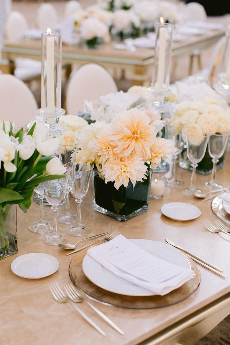 Flower arrangements wedding Barcelona Bell Reco