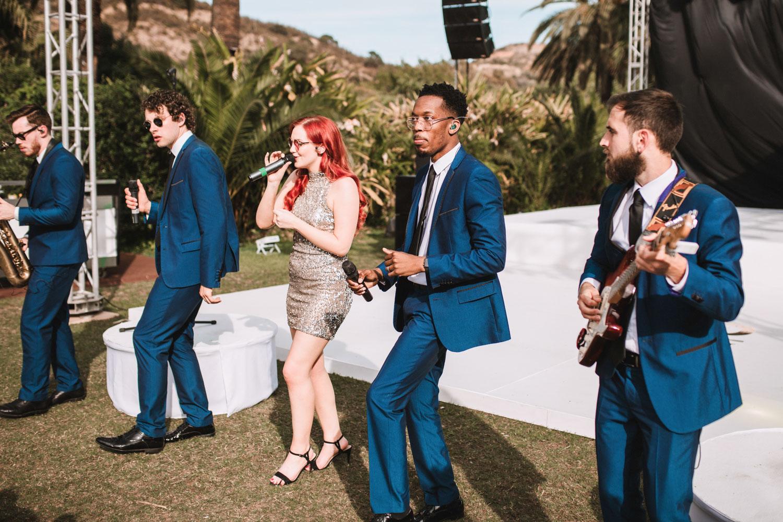 wedding band singers Marbella