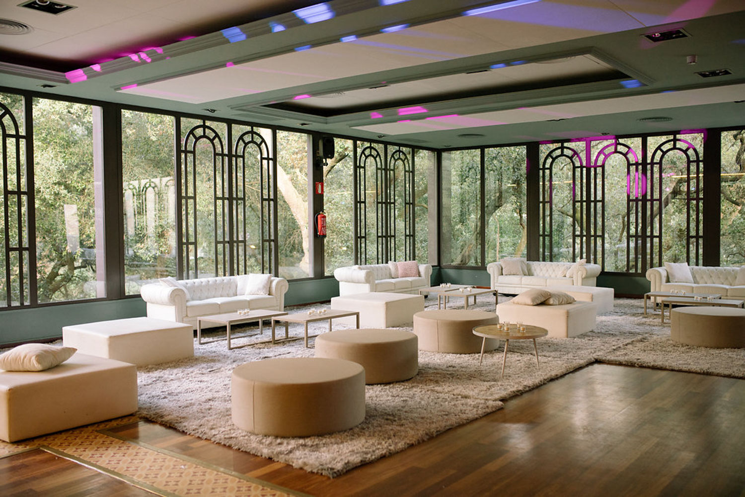 Chill out area Bell Reco Barcelona Wedding